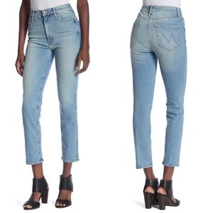 MOTHER The Dazzler Ankle Straight Leg Jeans 28 NWT